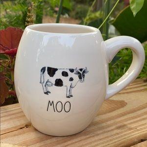 New Rae Dunn Farmhouse MOO 🐄 Coffee Tea Mug
